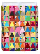 Abstract Of Colors  Duvet Cover by Mark Ashkenazi