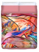 Abstract - Paper - Origami Duvet Cover by Mike Savad