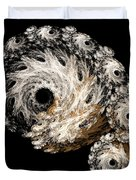 Abstract Seashell Duvet Cover by Andee Design