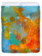 Abstract Summer #2 Duvet Cover by Pixel Chimp