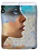 Abstract Tarot Art 019 Duvet Cover by Corporate Art Task Force