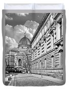 Academy Of Arts Dresden Duvet Cover by Christine Till