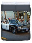 Adam 12 Duvet Cover by Tommy Anderson