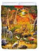 African Harmony Duvet Cover by Jan Patrik Krasny