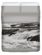 After The Crash Duvet Cover by Laurie Search