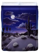 After the Rain Duvet Cover by Snake Jagger