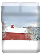 After the Storm Duvet Cover by Bill  Wakeley