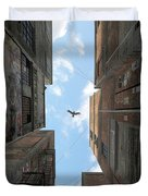 Afternoon Alley Duvet Cover by Cynthia Decker