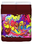 Agape Duvet Cover by Nancy Cupp