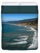 Agate Beach Duvet Cover by Adam Jewell