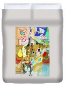 Aging Process 18j Duvet Cover by David Baruch Wolk