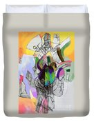 Aging Process 22c Duvet Cover by David Baruch Wolk
