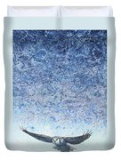 Ahead Of The Storm Duvet Cover by James W Johnson