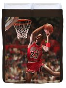 Air Jordan Duvet Cover by Mark Spears