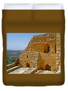 Ajlun Castle In Jordan Duvet Cover by Ruth Hager