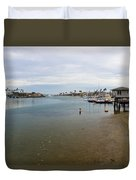 Alamitos Bay Duvet Cover by Heidi Smith
