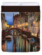 alba a Venezia  Duvet Cover by Guido Borelli