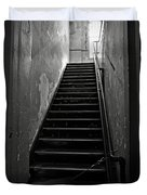 Alcatraz Hospital Stairs Duvet Cover by RicardMN Photography