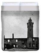 Alcatraz Island Lighthouse Duvet Cover by RicardMN Photography