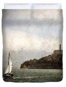 Alcatraz Island Duvet Cover by RicardMN Photography