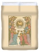 All Saints Duvet Cover by English School