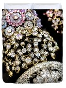 All That Glitters Duvet Cover by Caitlyn  Grasso