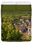 Alsace Morning Duvet Cover by Brian Jannsen