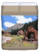 Alta In Colorado Duvet Cover by Guido Borelli