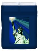 America Duvet Cover by Diana Angstadt