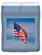 American Flag Duvet Cover by Benjamin Reed