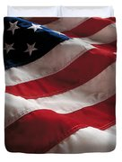 American Flag Duvet Cover by Jon Neidert