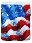 American Flag Duvet Cover by Venus