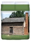 American Log Cabin Duvet Cover by Frank Romeo
