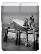 American Merchant Mariners Memorial Duvet Cover by Mike McGlothlen