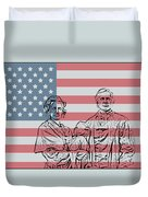 American Patriots Duvet Cover by Dan Sproul