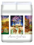 America's Great Venues Duvet Cover by Joshua Morton