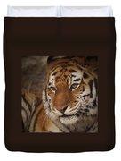 Amur Tiger 4 Duvet Cover by Ernie Echols