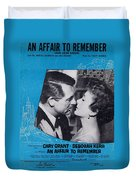 An Affair To Remember Duvet Cover by Mel Thompson