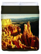 An October View Duvet Cover by Jeff Swan