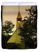 An Old Church Near Moxee Wa Duvet Cover by Jeff Swan