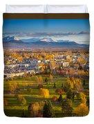 Anchorage Landscape Duvet Cover by Inge Johnsson