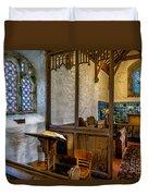 Ancient Chapel 2 Duvet Cover by Adrian Evans