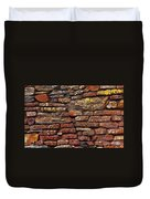 Ancient Wall Duvet Cover by Carlos Caetano