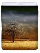 And The Rains Came Duvet Cover by Holly Kempe
