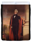 Andrew Jackson Standing Duvet Cover by War Is Hell Store