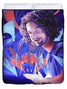 Andy Farag  Duvet Cover by Joshua Morton