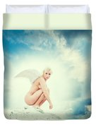 Angel Duvet Cover by Stelios Kleanthous
