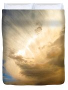 Another Incredible Cloud Duvet Cover by Joyce Dickens