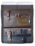 Antique Trunks 5 Duvet Cover by Anita Burgermeister