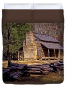 Appalachian Homestead Duvet Cover by Paul W Faust -  Impressions of Light